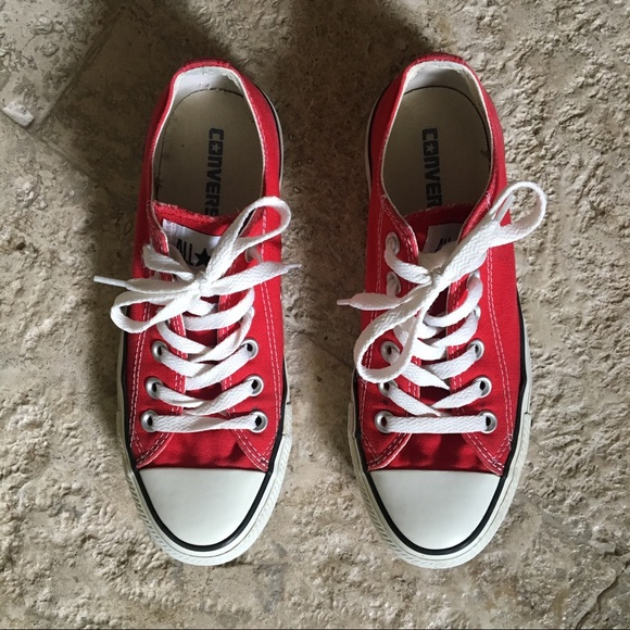 Converse Shoes - Converse All-Star Low Tops Red 2cc556a1f